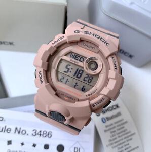 Casio G-Shock *GMDB800SU-4 S Series Power Trainer Pink Mobile Link Watch Women