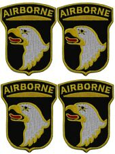 4 x 101st AIRBORNE / EAGLE - IRON-On or SEW ON PATCH