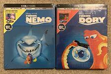 Finding Nemo + Finding Dory [SteelBooks] [4K Ultra Hd + Blu-Ray]
