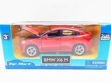 "LOT 13160 | Top Mark 8166 ""BMW X6 M"" rot Modellauto mit Antrieb 1:40 NEU in OVP"