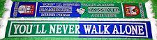 "Hannover Hamburg Schal ""You´ll never walk alone""  Niedersachsen Ultra Fan Kurve"