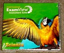 Scott Foresman 1st Grade 1 Science Exam View Assessment TESTS Homeschool CD-ROM