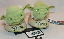 Star Wars Yoda Jedi Master Slipper Sock Top Shoes Toddler 7/8 Kids Boys Girls