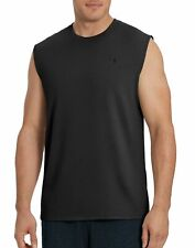 Champion Mens Jersey Atheltic Fit Muscle Tee Classic Cotton T-Shirt Sleeveless