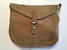 WW II ARMY M-1928 CANVAS HAVERSACK MESS KIT MEAT CAN POUCH