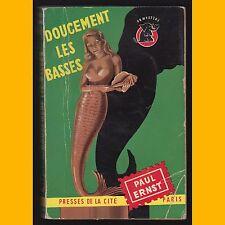 Collection UN Mystère  N° 125 DOUCEMENT LES BASSES Paul Ernst 1953
