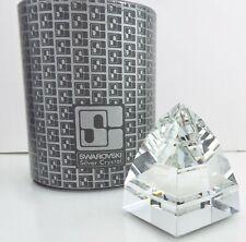 Swarovski Silver Crystal - Pyramid Paperweight - 7450 - w/ Box ~#3667