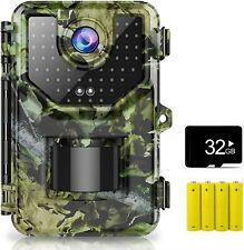 1520P 20Mp Trail Camera Hunting Camera /w 120°WideAngle Motion Trail Game Camera