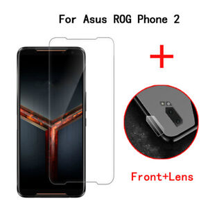 Tempered Glass Screen Protector for ASUS Rog Phone II Rog2 Case Lens Protector