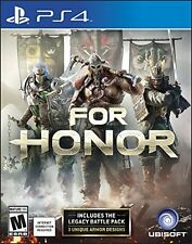 For Honor 2017 - PlayStation 4 Brand New Ps4 Games Sony Factory Sealed