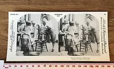 NEW WOMAN WASH DAY Womens Lib Vintage 1978 REPRINT of 1897 Victorian Stereoview