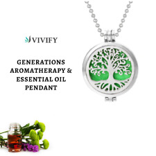 Essential Oil Pendant Locket Necklace Diffuser Jewelry for Perfume Aromatherapy