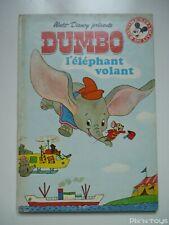 Livre Disney - Club du livre Mickey / Dumbo l'éléphant volant