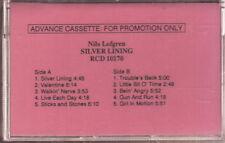 nils lofgren silver lining cassette promo  new