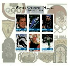 Guyana - 1997 - Pre Winter Olympics - Sheet Of 6 - MNH