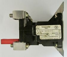 CUTLER HAMMER WESTINGHOUSE A200 Size 3 Panel Mount Overload Relay AN33PB