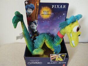 "Disney Pixar Onward BLAZEY 8"" Plush Posable Soft Toy Makes Sounds New"