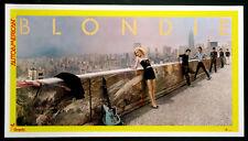 Blondie Debbie Harry Autoamerican Vintage 1980 Promo Poster Linenbacked