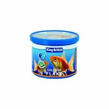 King British Goldfish Flake Food Complete Feed for Goldfish Coldwater Fish 55g