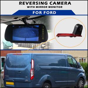 "Ford Transit Custom Genuine Brake Light Reversing Camera With 7"" Mirror Monitor"