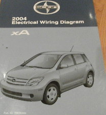 2004 TOYOTA Scion xA Electrical Wiring Diagram Service Shop Repair Manual EWD