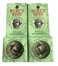2-PACK Burt's Bees 100% Natural Res-Q Ointment 0.6 oz
