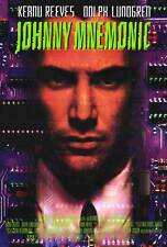 JOHNNY MNEMONIC Movie POSTER 27x40 B Keanu Reeves Dina Meyer Ice-T Takeshi