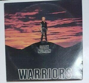 """GARY NUMAN Warriors Australian Press 12"""" VINYL LP 24041-1"""