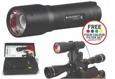 LED Lenser P7 Tactical Scope Mounted Gun Lamp Torch Inc Filter Kit ledlenser