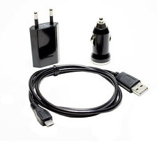 Samsung Galaxy S Advance gt-i9070 CARGADOR KIT DE CARGA COCHE MICRO USB Cable