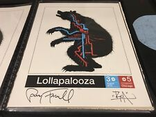 """ROA -- """"Lollapalooza 2012"""" Signed & Numbered Rare Art Print -- Edition of 100"""