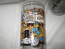 MCDONALDS GREAT MUPPET CAPER 1981 HENSON ASSOC, INC HAPPINESS HOTEL GLASSES