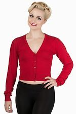 Women's Button V Neck Short Sleeve Viscose Jumpers & Cardigans
