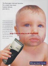 Remington Intercept Sensitive 2000 Mag Advert #2881