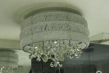 NEW ! Modern circular  Clear Crystal Chandelier The butterfly pendant Light