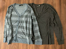 Men's Vurt Long Sleeved Cardigan Lot Size Large - 2 Cardigans