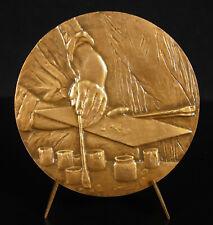 Medal Raoul Dufy Artist Mural Fairies Electricity 1965 Renee Vautier Medal