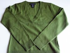 Banana Republic Women's Knitted V Neck Long Sleeve Sweater - (size M)