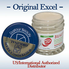 3 Jars of St. Dalfour Gold Seal EXCEL Beauty Whitening Cream-Max Strength