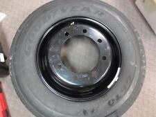 ~NEW~ Goodyear GY 245/70R19.5 G670RVTL14 RV Motorhome Tire + Freightliner Wheel