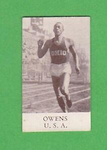 1936 Swedish alfa Berlin Olympics #4 Jesse Owens 200 m