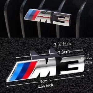 M3 Emblem For BMW 3 Series M3 11 Slats Front Grille