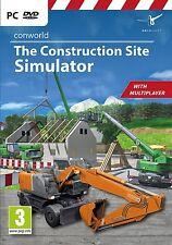 Conworld: The Construction Site Simulator (PC DVD) (UK IMPORT) Nuovo