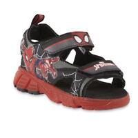 NEW NWT Boys Toddler Sandals Disney Marvel Spider Man Size 6 7 8 9 or 10