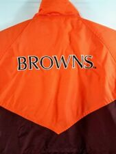 VTG NFL Game Day Turbo Cleveland Browns Jacket Coat Youth Large 16/18 Women's S