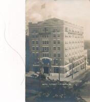 BURLINGTON VT – Hotel Vermont Real Photo Postcard rppc - 1911