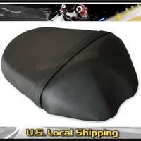 Black Leather Rear Passenger Seat Pillion Cushion For Suzuki GSXR1000 2009-2016