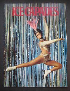 1968 Ice Capades Program Tommy LItz Margot and Danne Johnny LaBrecque
