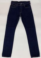 Levis Mens 505 C Jeans Slim Fit Straight Stretch Zip Dark Wash Size 29 x 32