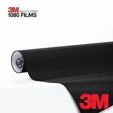 3M Scotchprint Series 1080 Matte Black Vinyl Car Wrap Film Sheet Roll- 4ft x 5ft